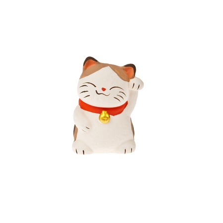 good luck: Japanese cat Maneki Neko