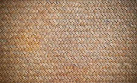 Wicker wood pattern background photo