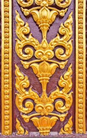 Thai art on a temple wall Stock Photo - 12704782