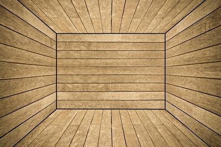 lumber room: Grunge old wood texture room background