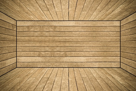 Grunge old wood texture room background Stock Photo - 12998728