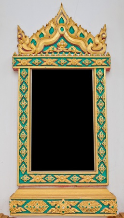 Traditional Thai style window temple Stock Photo - 12998696