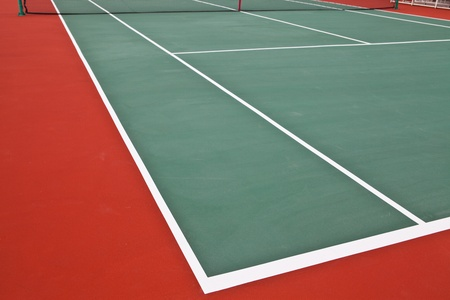 Tennis court photo