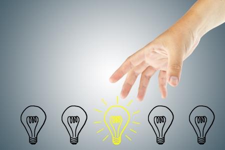 Hand select an idea