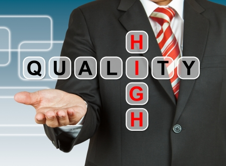 Businessman hand drawing High Quality Reklamní fotografie