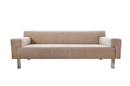 luxurious sofa: Luxurious sofa isolated on white background Stock Photo