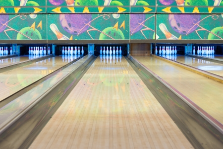 Bowling Alley 写真素材
