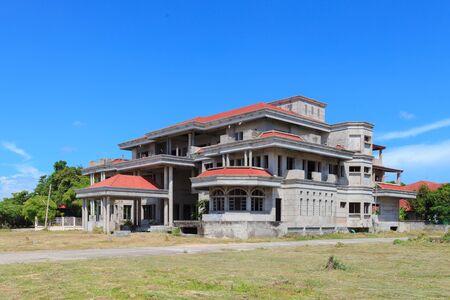cement chimney: Abandon House