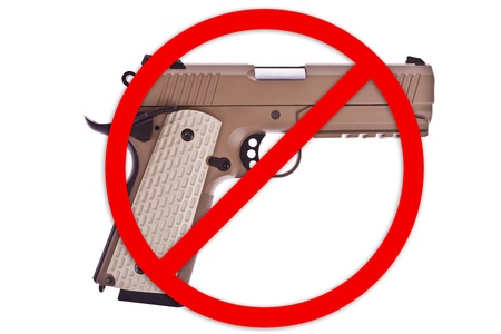 No weapon allowed Stock Photo - 20582477