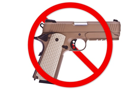 No weapon allowed Stock Photo - 20582489