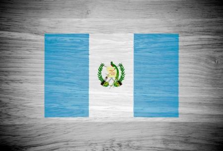 bandera de guatemala: Bandera de Guatemala en la textura de la madera
