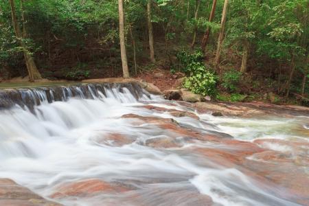 namtok: Waterfall in Namtok Samlan National Park, Saraburi, Thailand