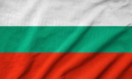 rumple: Ruffled Bulgaria Flag