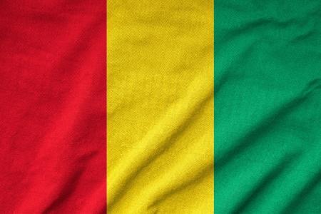 Ruffled Guinea Flag Stock Photo - 23150159