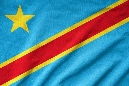 Ruffled congo Flag Stock Photo - 23150161