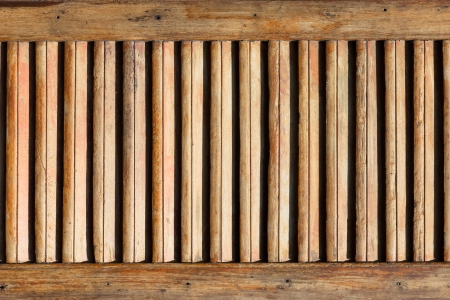 louver boards: Wood louver background texture Stock Photo