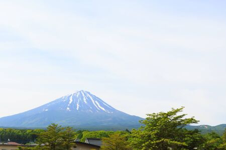 stratovolcano: Mt Fuji, Japan
