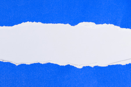 blue ripped paper background texture