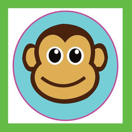 monkey cute cartoon characters cute graphics for kids