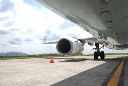 Aircraft engine and wings