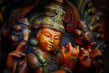 bouddha: Hindu Krishna