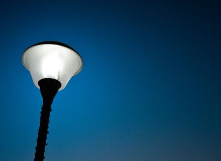 slantwise: Lighting Street Lamp at Night