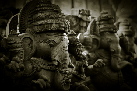 building security: Lord Ganesha