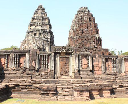 Prasat Hin Phi mai, Historical Park Phimai Khmer Sanctuary,one of important religious sanctuary,korat,thailand
