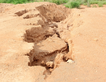 Soil erosion due to water