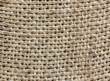 Closeup a natural burlap texture for the background