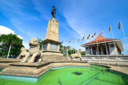 Plaza de la Independencia, Colombo, Sri Lanka