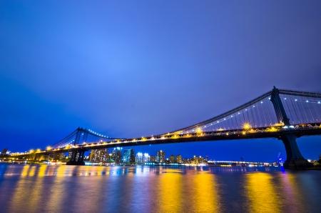 New York City at Night, USA photo