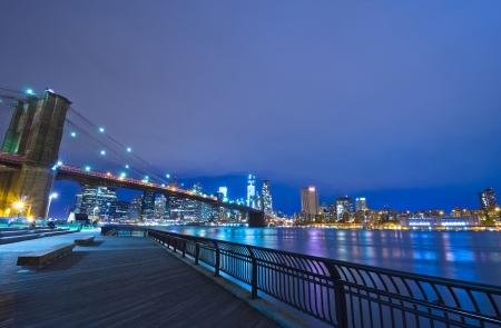 New York City at Night, USA Stok Fotoğraf