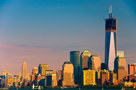 world trade center: One World Trade Center building in New York City