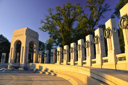 world wars: Washington DC - World War II Memorial Stock Photo