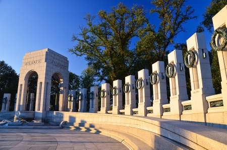 world war two: Washington DC - World War II Memorial Stock Photo