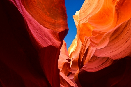 USA landscape, Antelope canyon  Arizona, Utah, United states of america