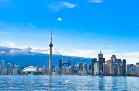 Toronto Skyline Stock Photo - 23058679