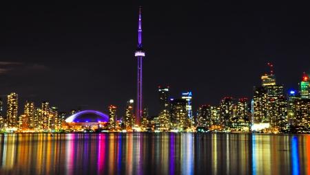 greater: Toronto Skyline at Night