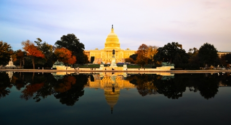 Capitol building in Washington DC, USA