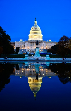 congressional: Capitol building in Washington DC, USA