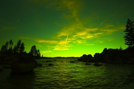 Northern Lights , Aurora Borealis