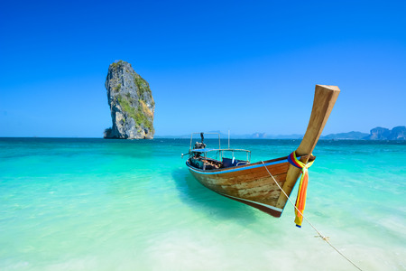 Amazing ocean landscape in Thailand photo