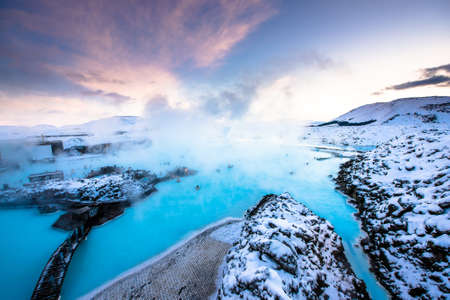 blue lagoon: laguna blu Archivio Fotografico