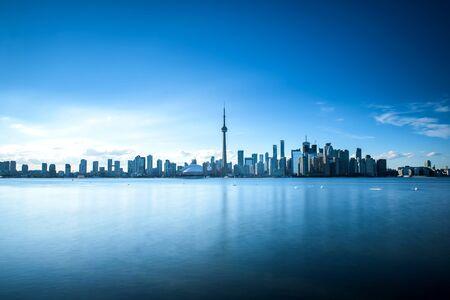 Toronto city skyline, Ontario, Canada