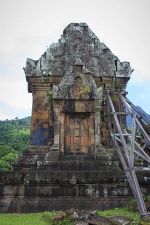 Wat Phu  a Hindu temple one of the oldest historic sites in Laos.