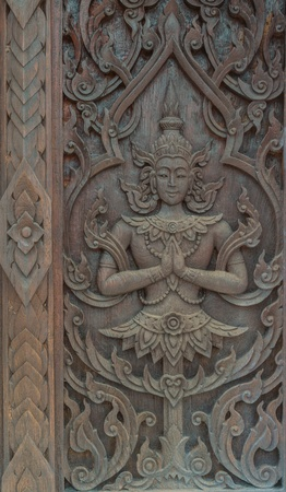Pattern of thai carved wood Stock Photo - 16169755