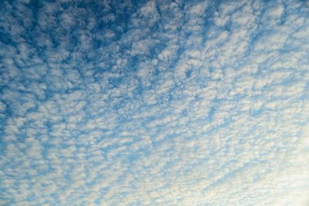 gentleness: Gentleness of cloudy blue sky Stock Photo