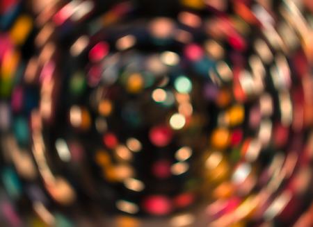 spin: Colorful spin bokeh, amazing whirl bokeh