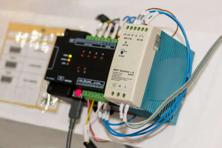 automatic Programmable Logic Controller PLC high precision equipment for industrial